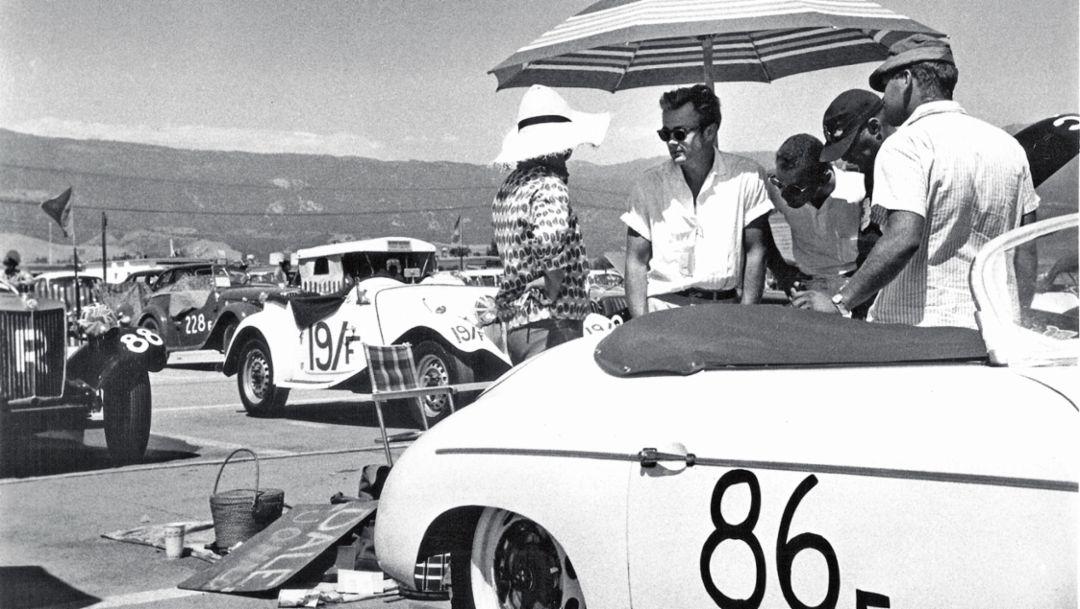 James Dean, Lew Bracker, Dale Johnson, 2017, Porsche AG