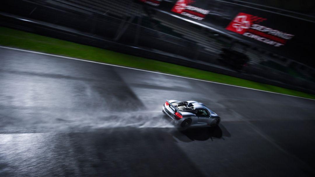 918 Spyder, E-Performance Nights, Malaysia, 2018, Porsche AG