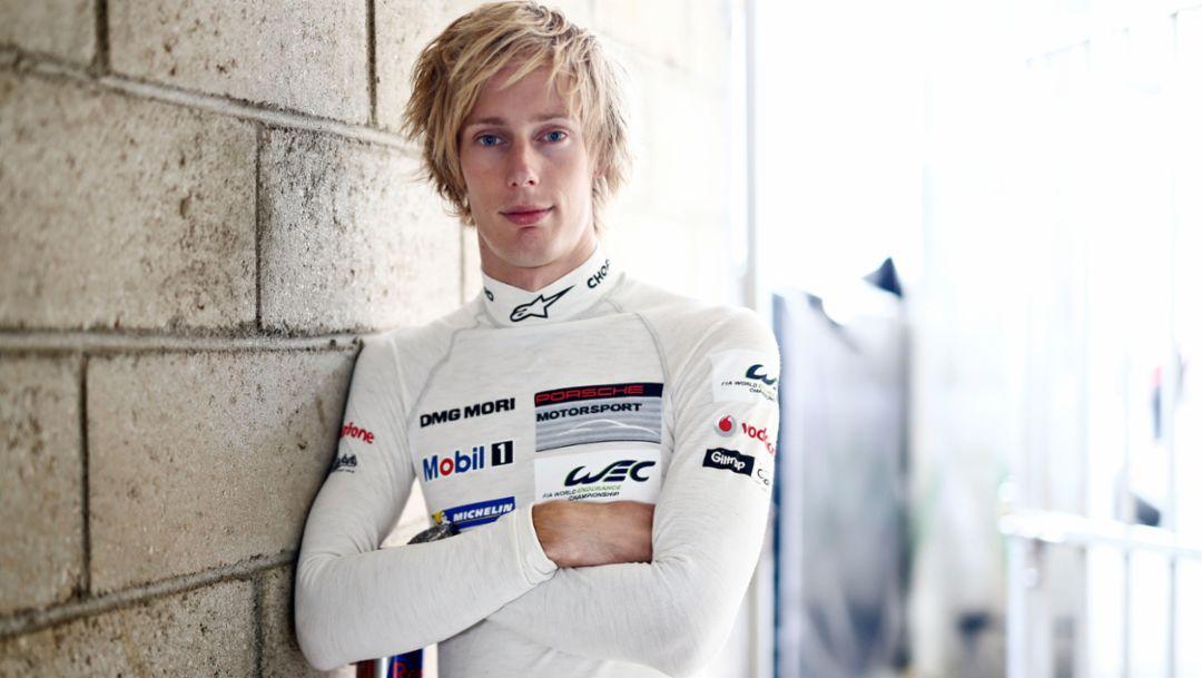 Porsche-Werksfahrer Brendon Hartley, 2015, Porsche AG