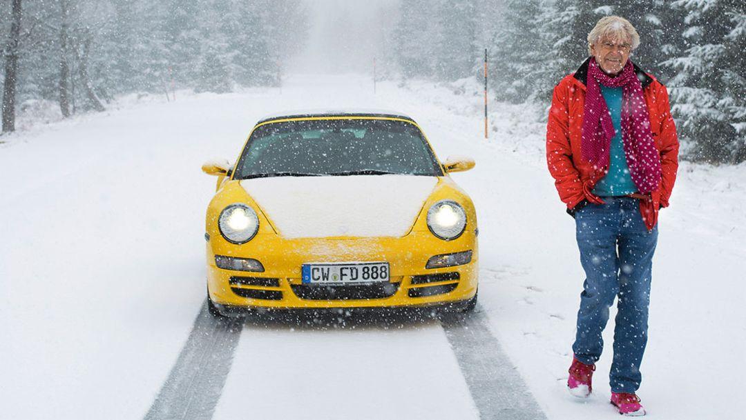 Hartmut Esslinger, 911 Carrera S Cabriolet, 2016, Porsche AG