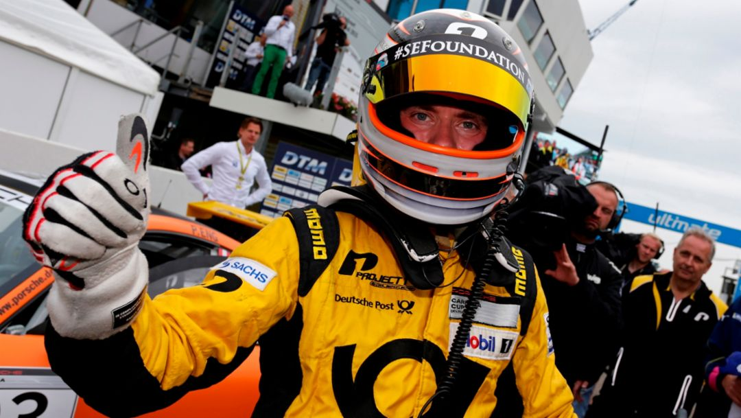 Philipp Eng, Porsche Carrera Cup Deutschland, Zandvoort 2015, Porsche AG