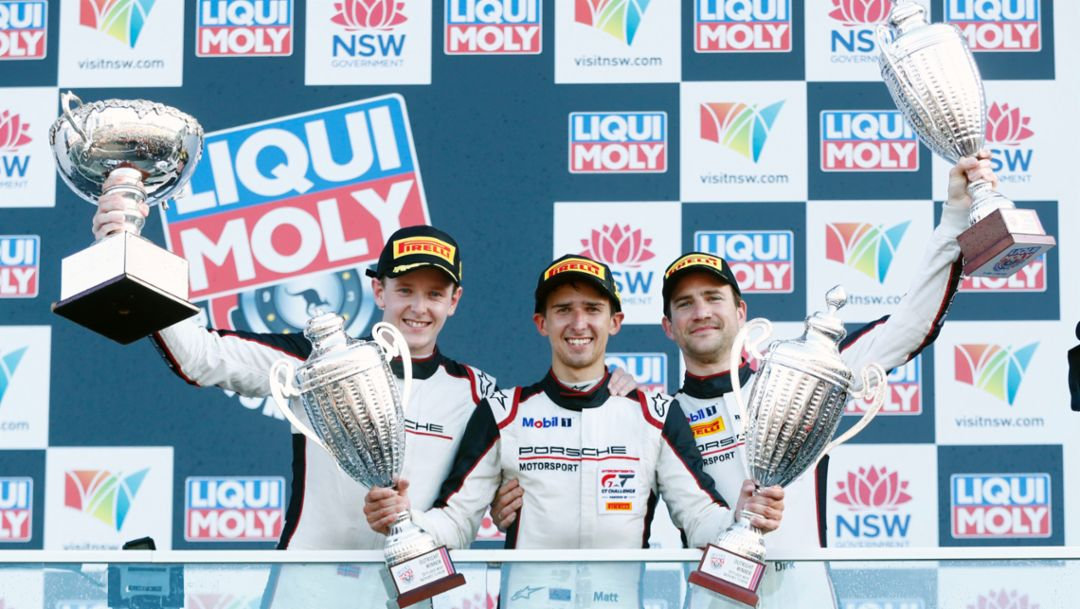 Porsche 911 GT3 R wins farewell race in Bathurst