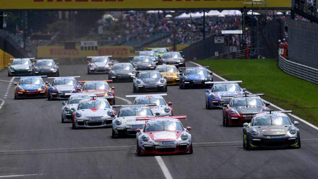 911 GT3 Cup, Porsche Mobil 1 Supercup, Budapest, 2016, Porsche AG