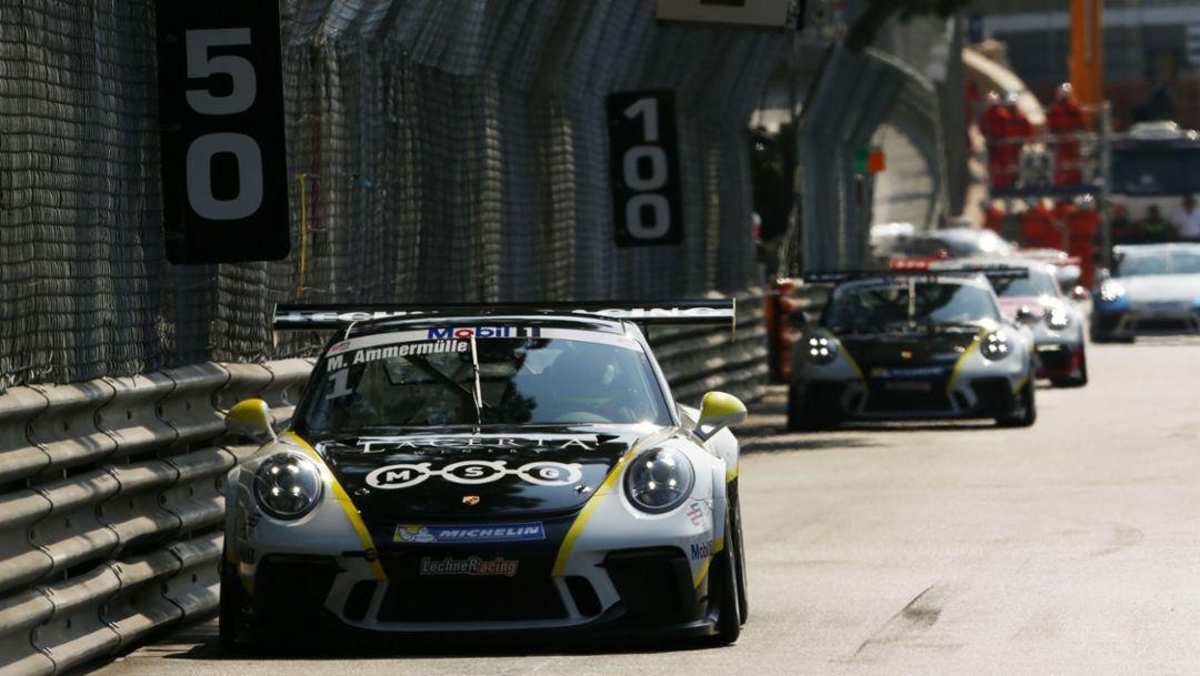 911 GT3 Cup, Porsche Mobil 1 Supercup, Monaco, 2017, Porsche AG