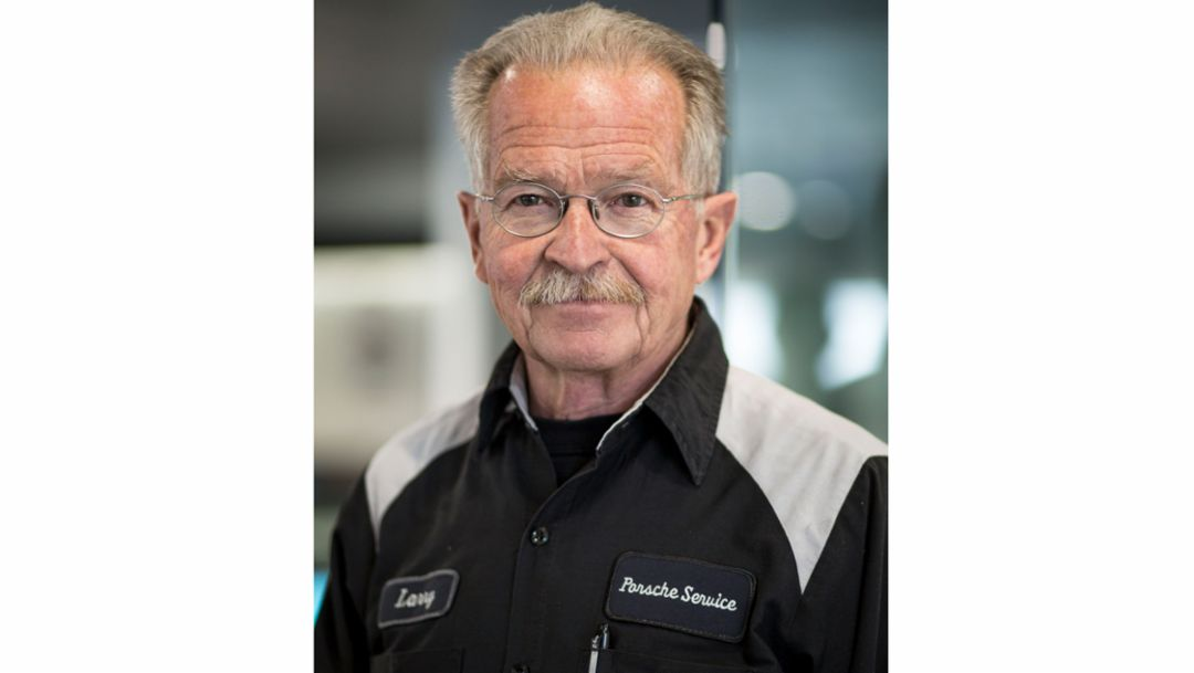 Larry Moulton, Kfz-Mechaniker, Porsche Salt Lake City, 2018, Porsche AG