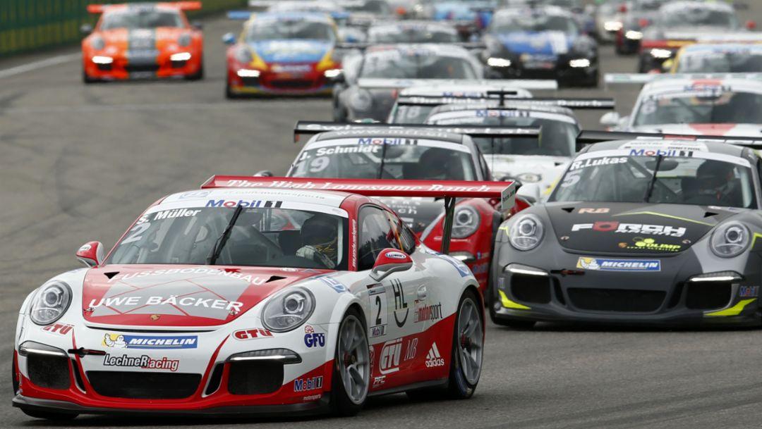 Porsche 911 GT3 Cup, Porsche AG, 2016