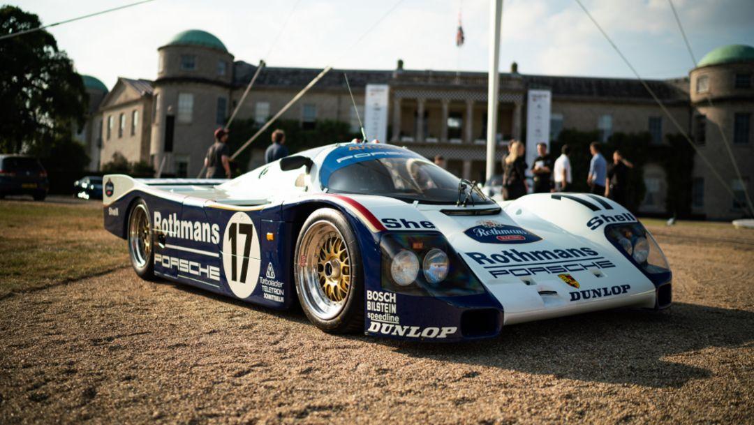 962 C, Goodwood Festival of Speed, 2018, Porsche AG