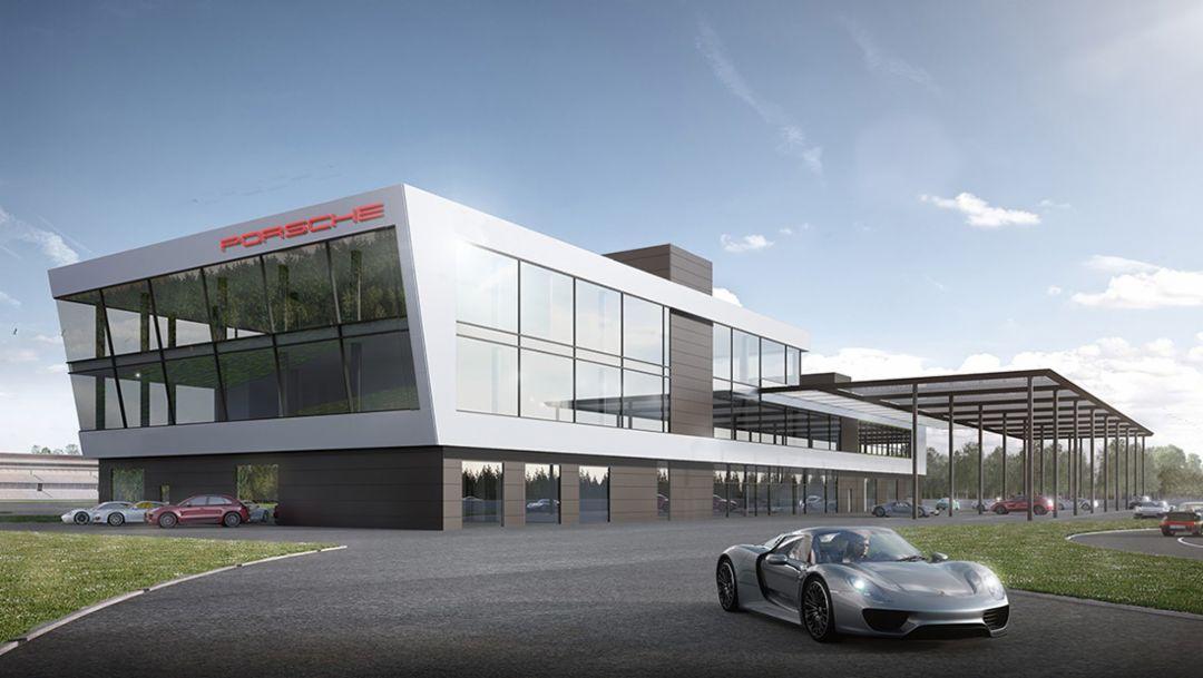 Porsche Experience Centre at the Hockenheimring