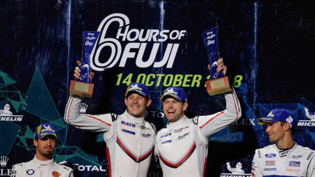 WEC at Fuji: Porsche extends championship lead