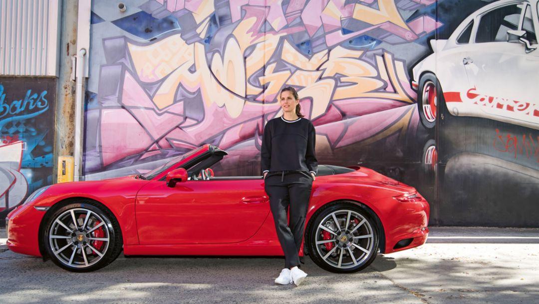 Julia Görges, Brand Ambassador, 911 Carrera 4 GTS, 2018, Porsche AG