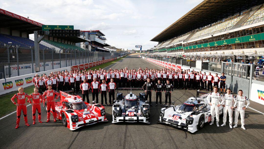 Porsche Team, Le Mans 2015, Porsche AG
