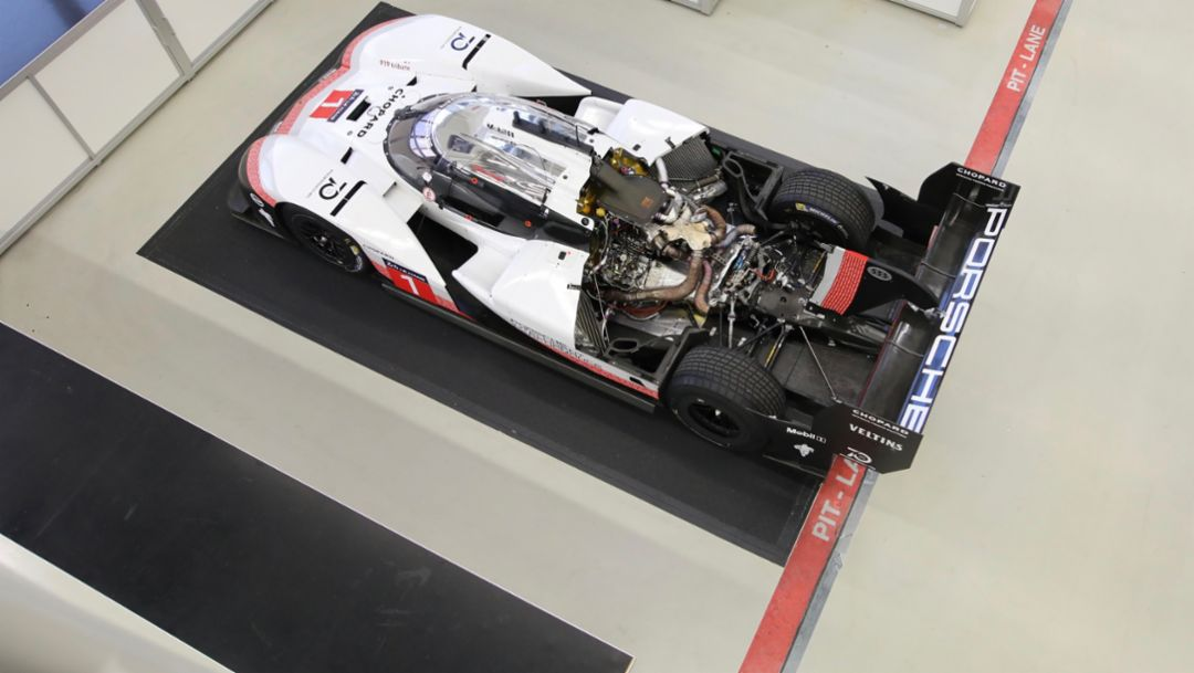 Technical check: The Porsche 919 Hybrid Evo