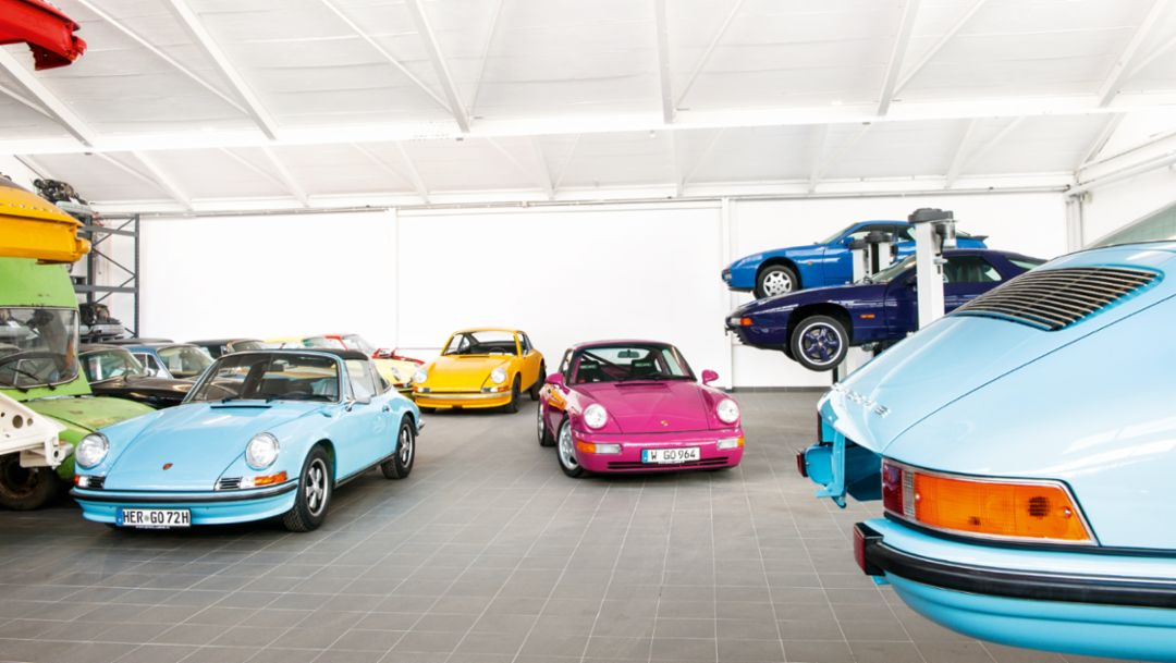 911 Targa 2.4 S in gulf blue, 2016, Porsche AG