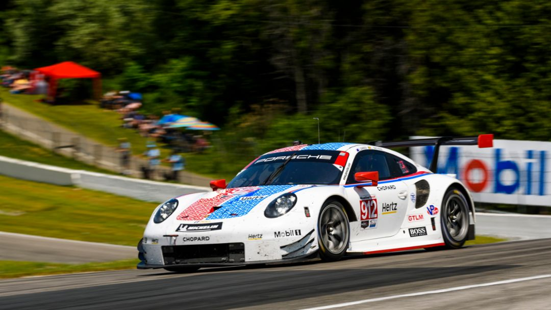 New record: Porsche 911 RSR scores fifth straight win