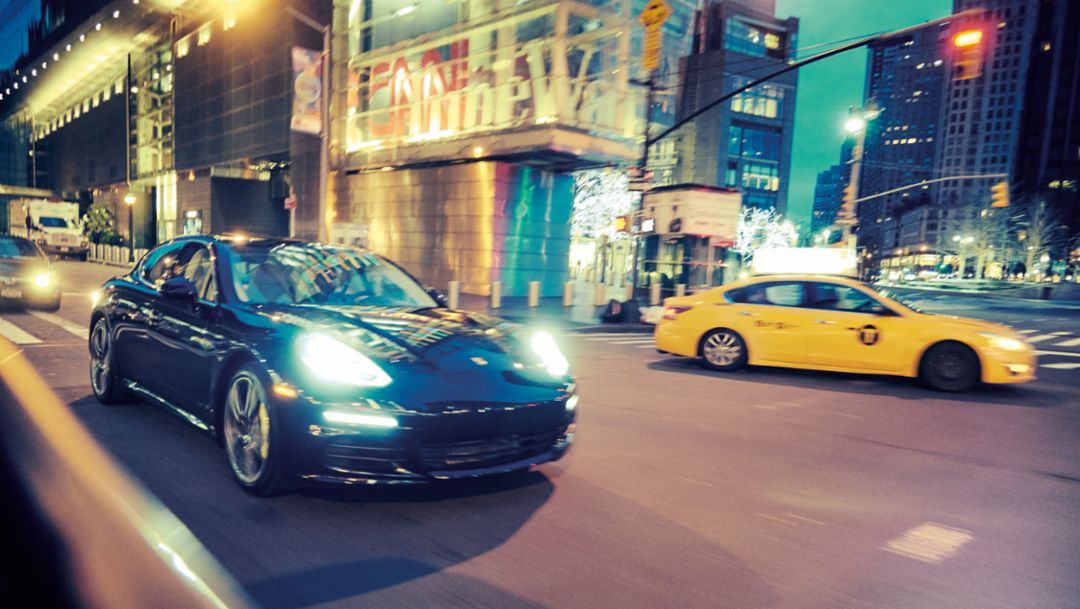Panamera S E-Hybrid, New York, 2015, Porsche AG