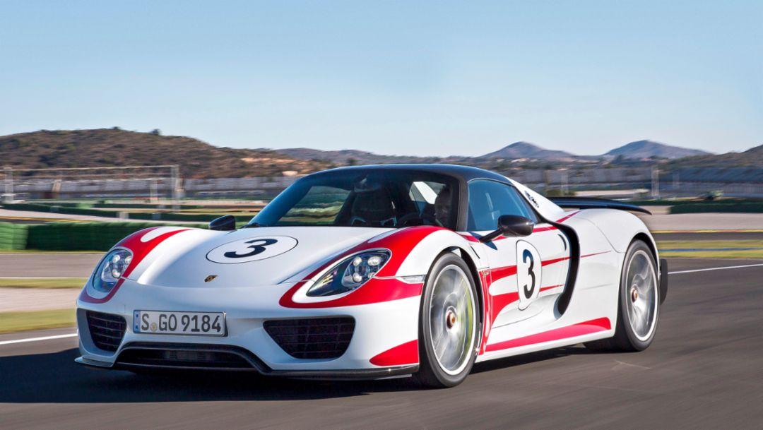 Porsche 918 Spyder, Weissach, 2014, Porsche AG