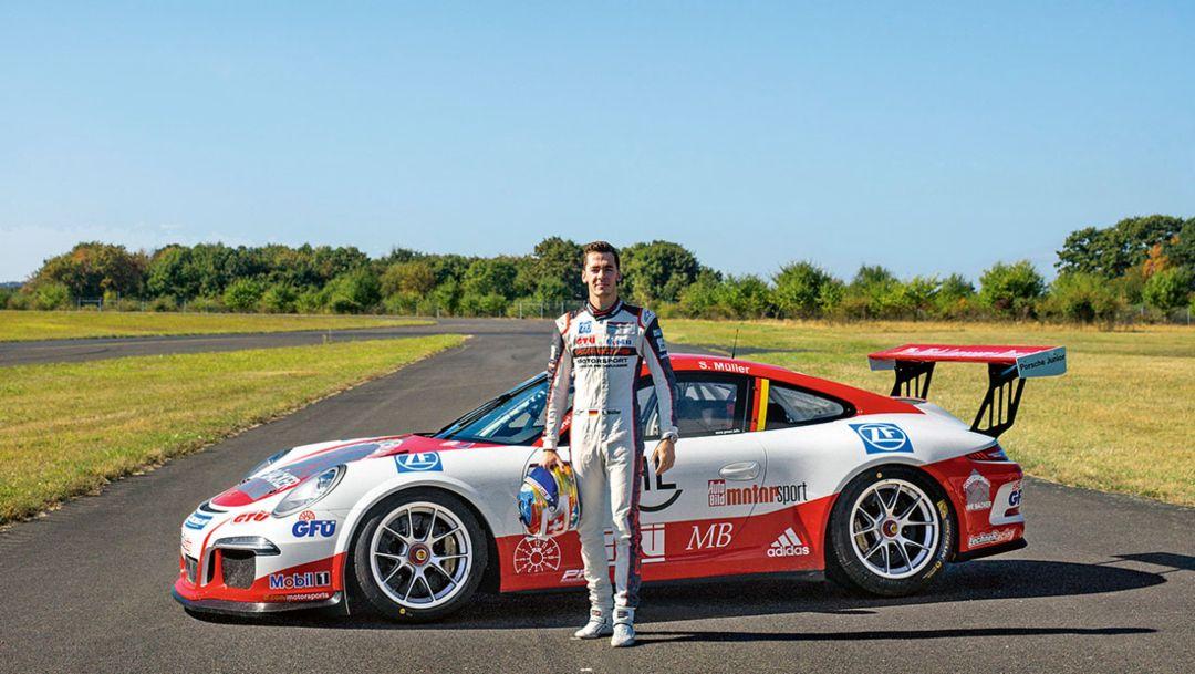 Sven Müller, 911 GT3 Cup, 2017, Porsche AG