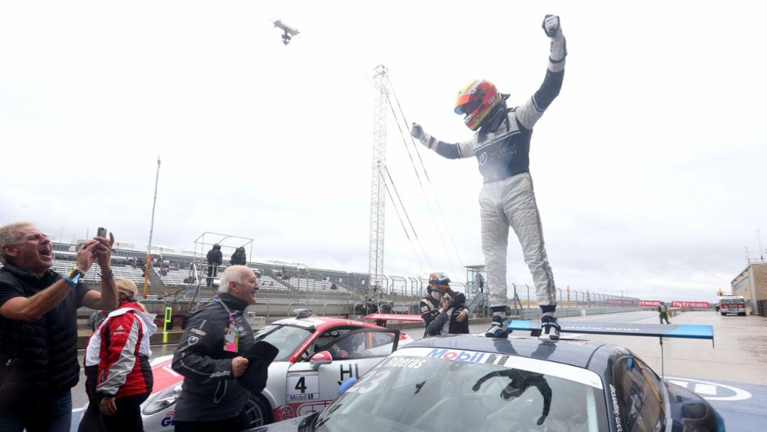 Alex Riberas, Porsche Mobil 1 Supercup, Austin 2015, Porsche AG