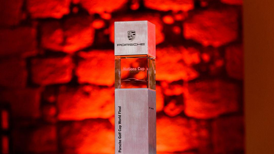 Pokal, Porsche Golf Cup, Mallorca, 2015, Porsche AG