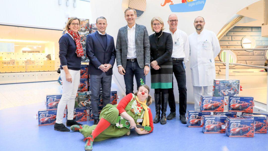 Porsche-Chef Oliver Blume zu Besuch im Olgäle