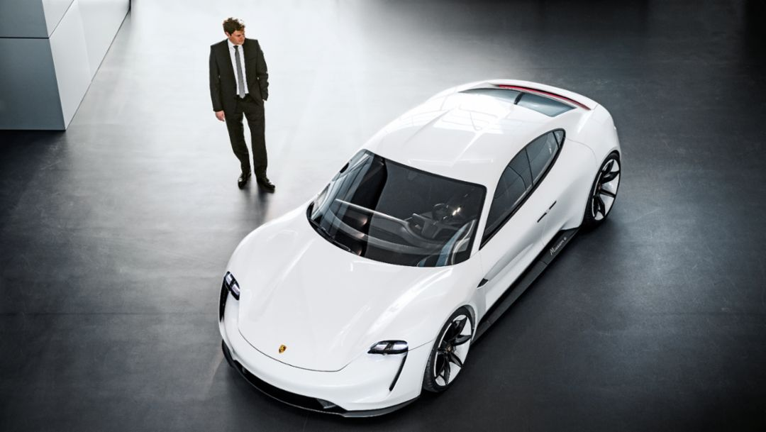 Stefan Weckbach, Mission E, 2018, Porsche AG
