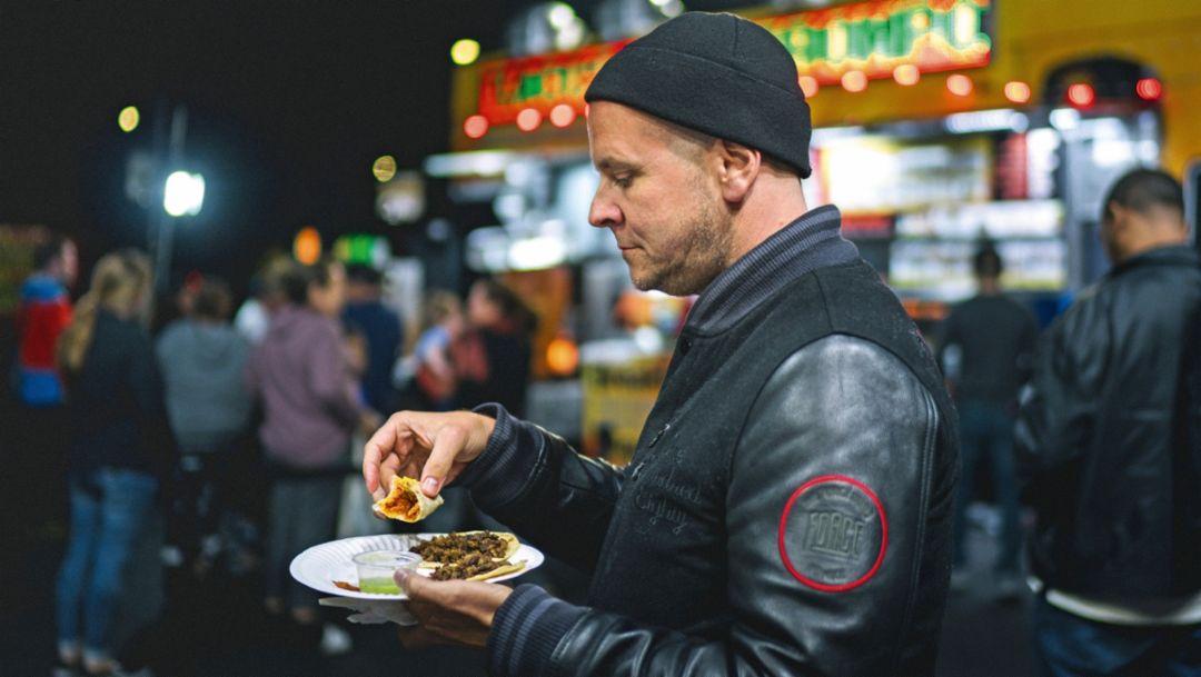 Leo's Tacos Truck, Los Angeles, 2018, Porsche AG
