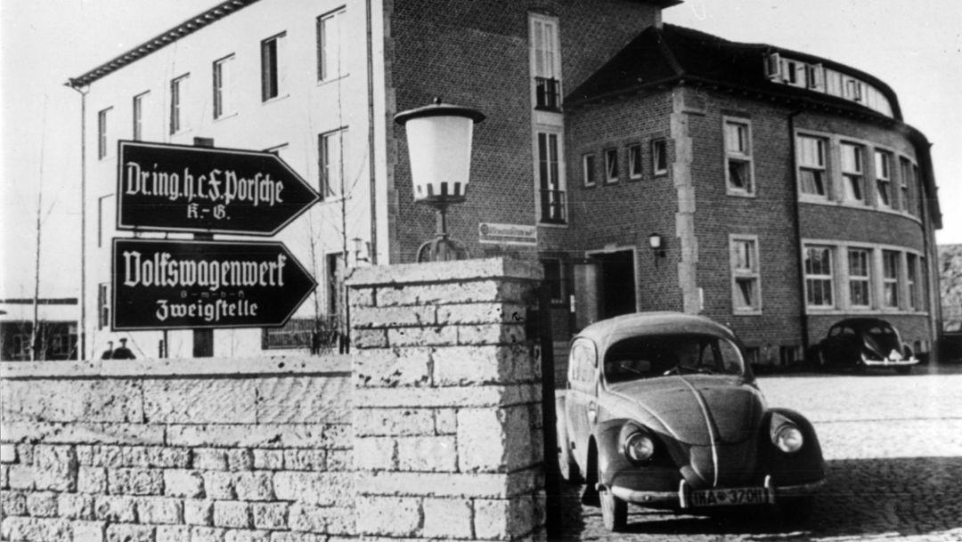 Porsche site Zuffenhausen, Porsche AG
