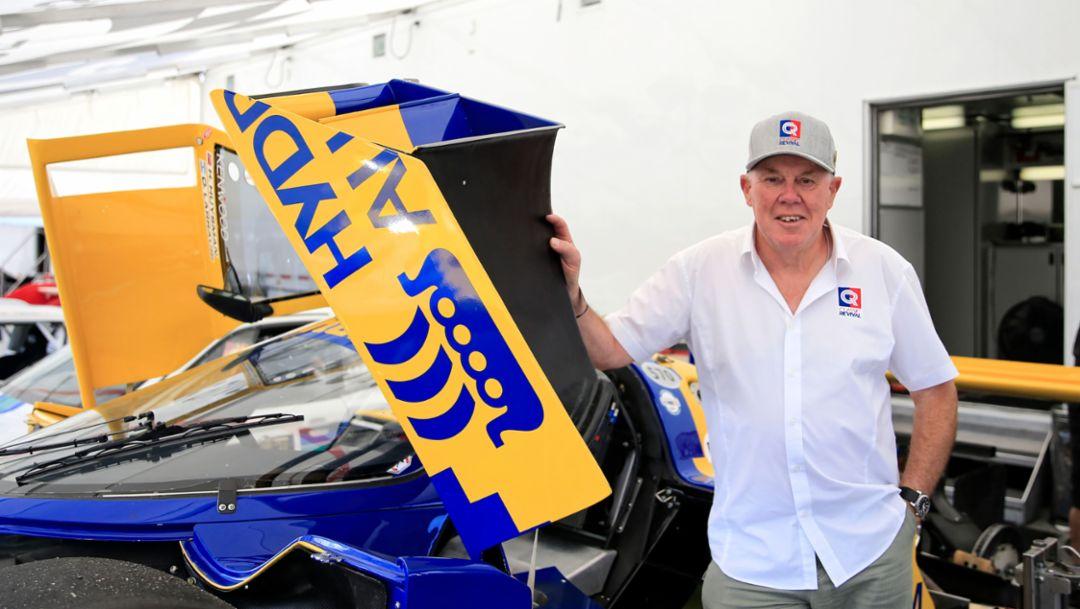 Paul Higgins, Liebhaber des historischen Motorsports, Rennsport Reunion VI, WeatherTech Raceway Laguna Seca, California, 2018, Porsche AG