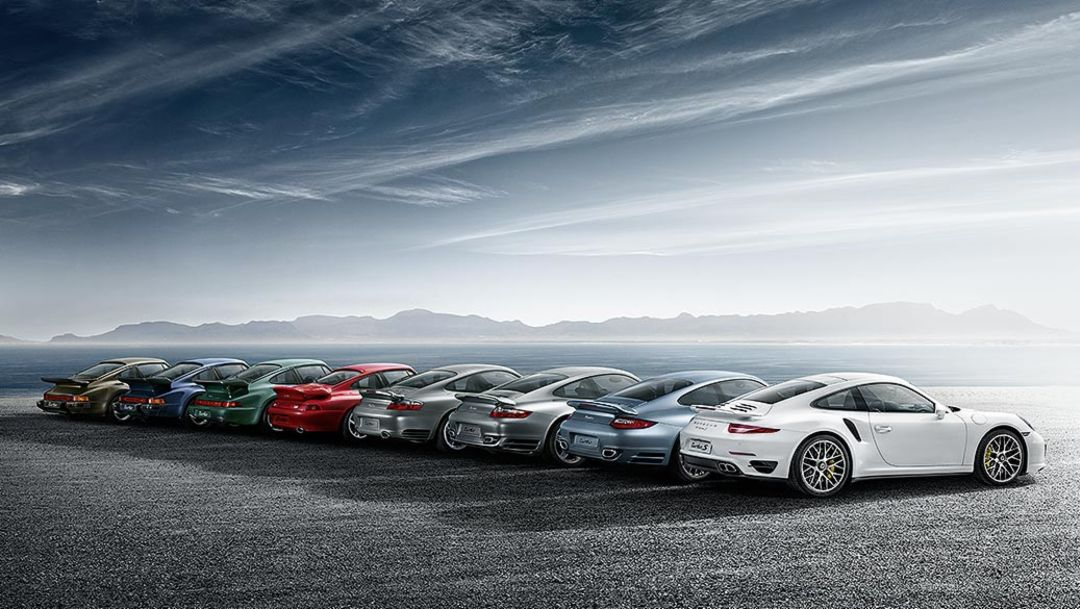 Generations of the Turbo, 2014, Porsche AG