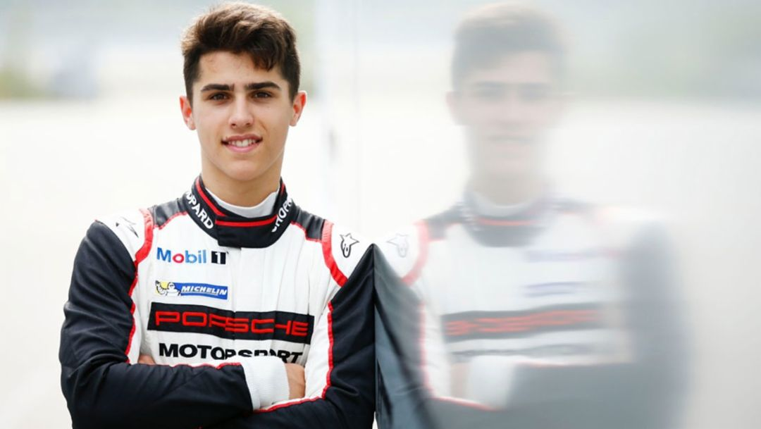 Thomas Preining, Porsche-Junior, 2016, Porsche AG