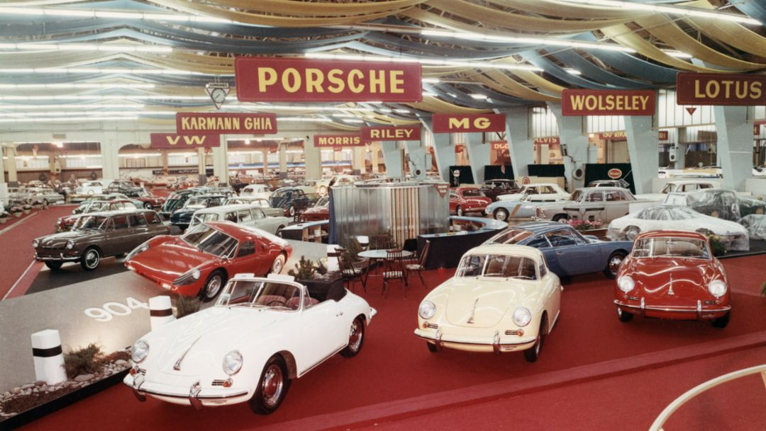 356, Geneva International Auto Show, 1964, Porsche AG