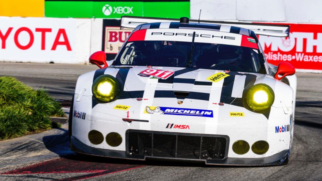 Porsche 911 RSR, Long Beach, IMSA WeatherTech SportsCar Championship, 2016, Porsche AG