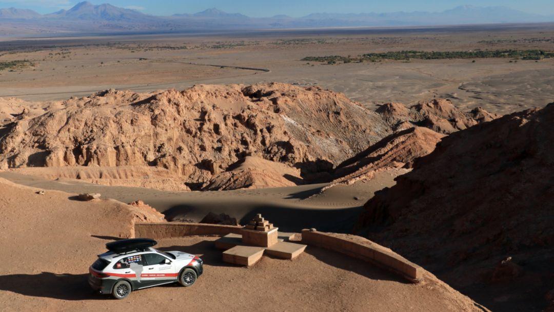 Cayenne S, Expedicion Cayenne, Atacama Desert, Chile, 2018, Porsche AG