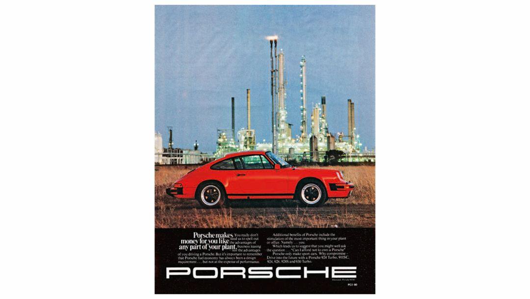 Porsche Anzeige, 1980-1992, Porsche AG