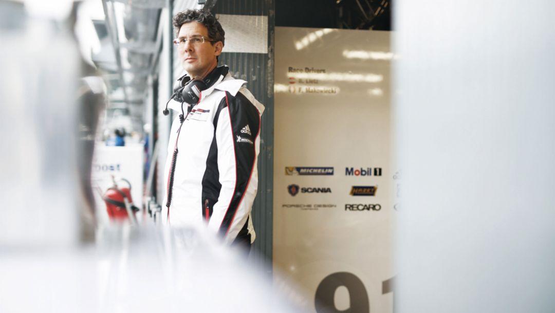 Frank-Steffen Walliser, Porsche Motorsportchef, 2018, Porsche AG