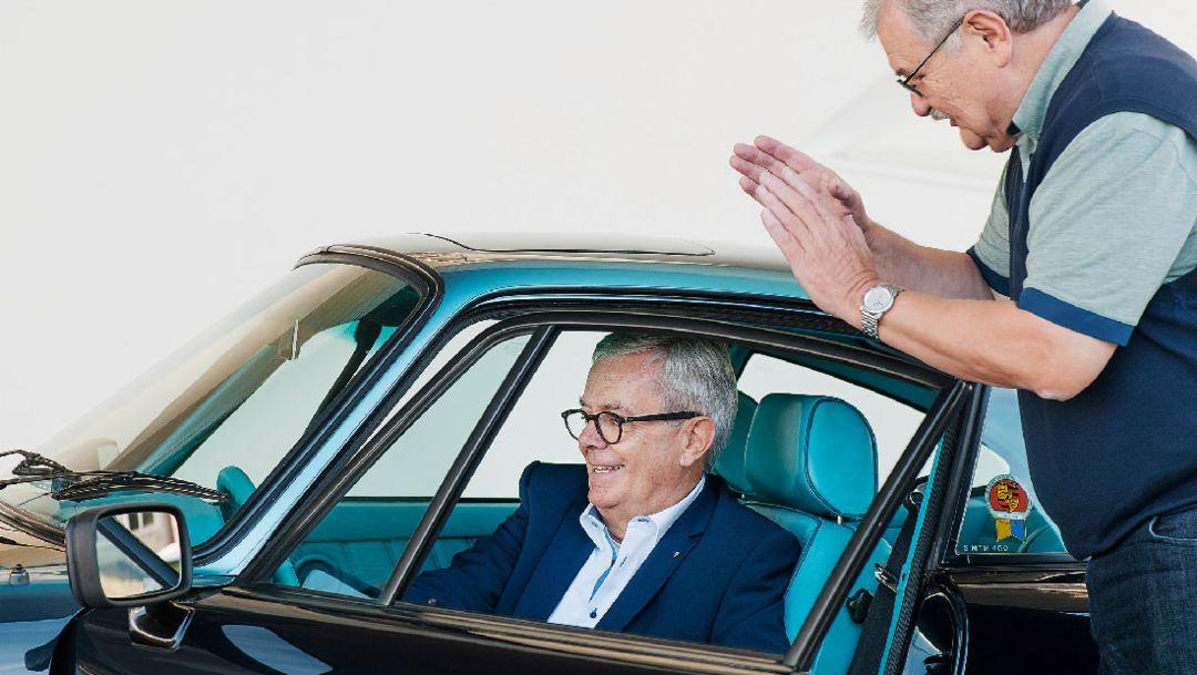 Tilman Brodbeck, Reinhold Schreiber, Porsche 911 Carrera 3.2, 2018, Porsche AG
