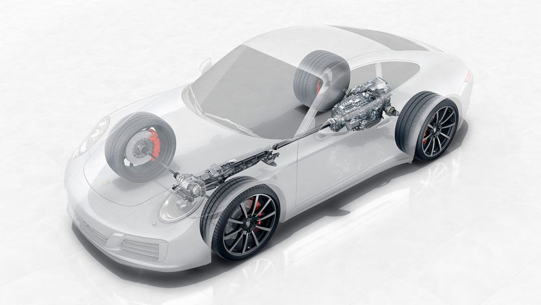 Porsche Traction Management for greater agility, stability and traction