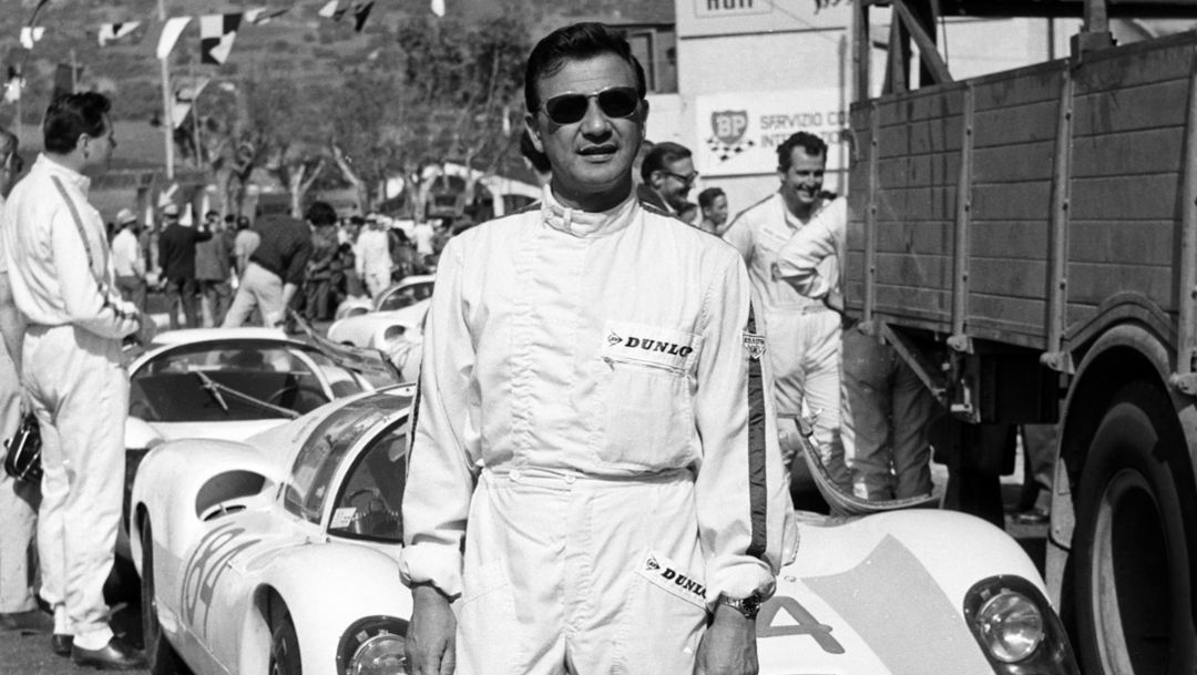 Hans Herrmann 1967, 2018, Porsche AG