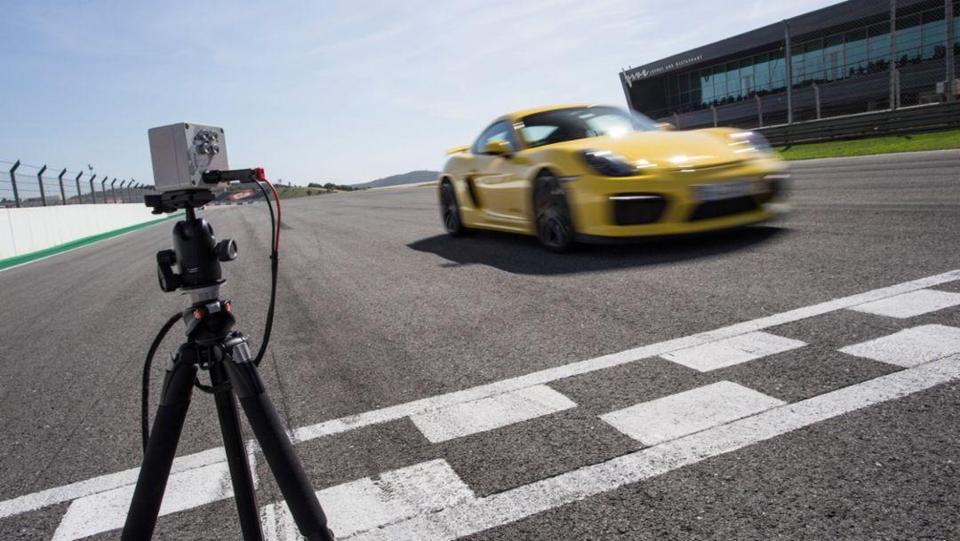 Cayman GT4, Porsche Track Precision App, 2015, Porsche AG