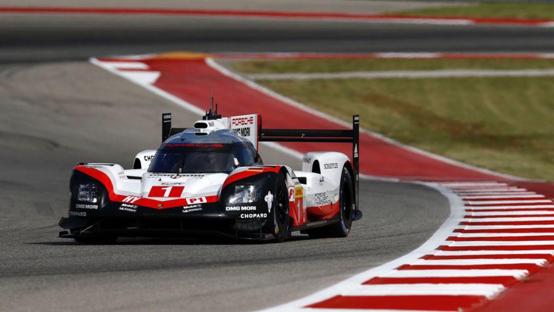 919 Hybrid, WEC, Qualifying, Austin, 2017, Porsche AG