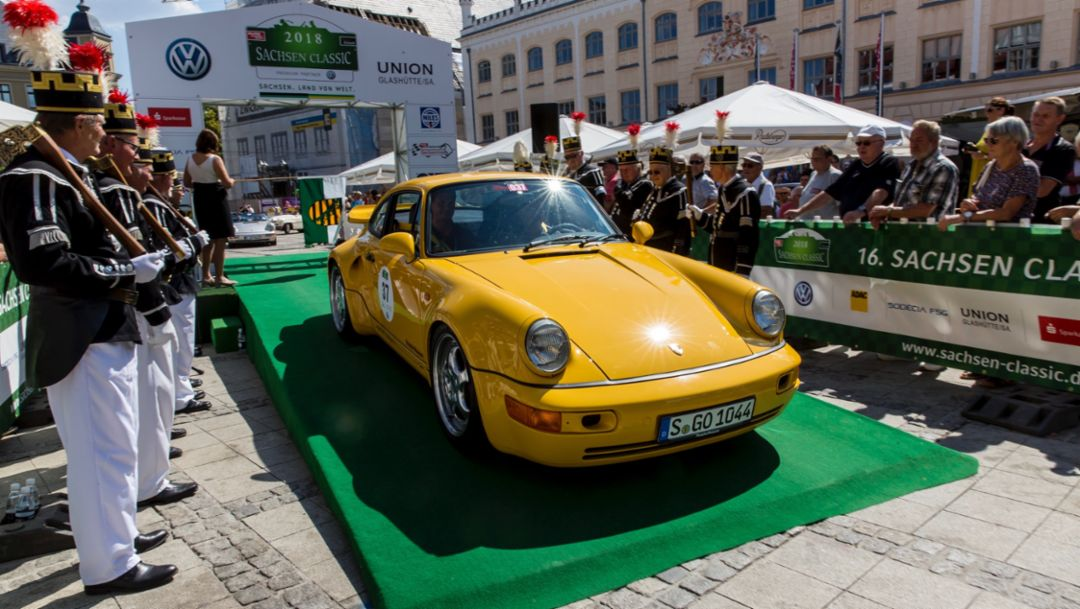 911 Turbo S, Sachsen Classic 2018, Porsche AG