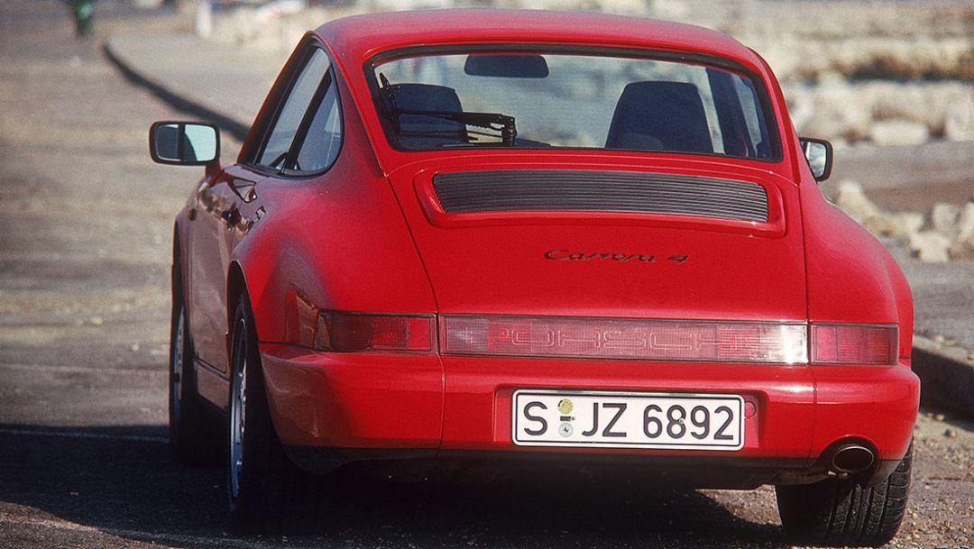 911 Carrera 4 (1988), all-wheel drive, 2018, Porsche AG
