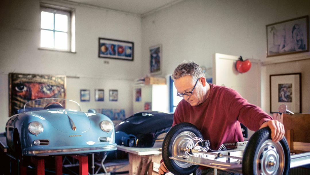 Bernd Pennewitz, Werkstatt, 2017, Porsche AG