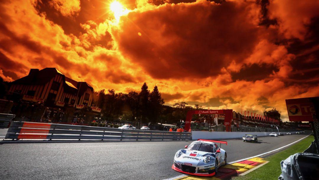 911 GT3 R (912), Herberth Motorsport, Race, 24 hours of Spa, 2017, Porsche AG