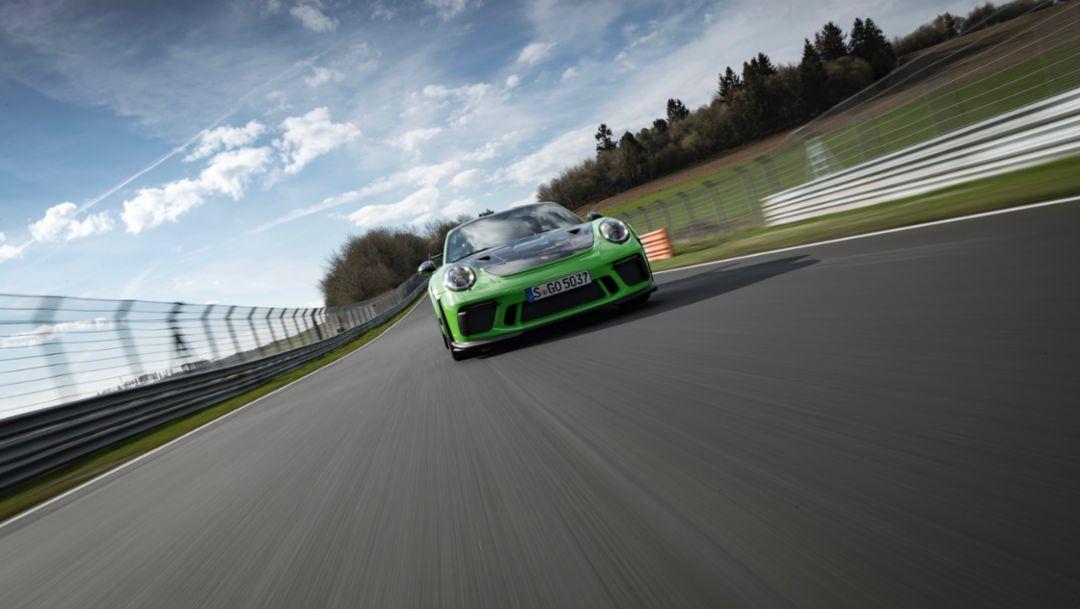 Precision instrument: Porsche 911 GT3 RS