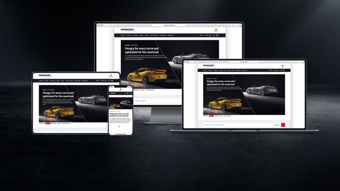 Porsche Communications expands digital offerings