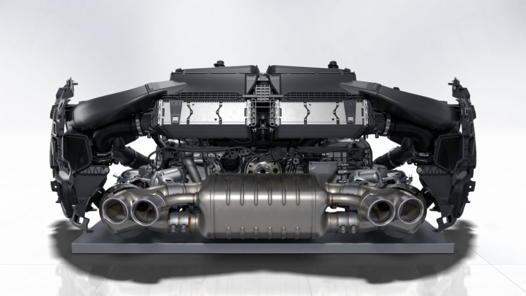 Six-cylinder boxer engine, 2019, Porsche AG