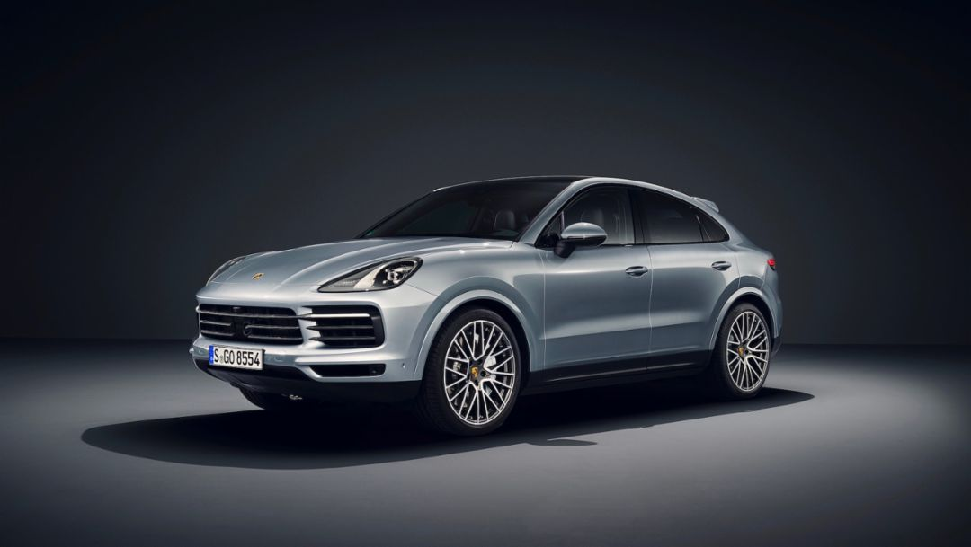 Now available to order new Cayenne S Coupé with 440 PS
