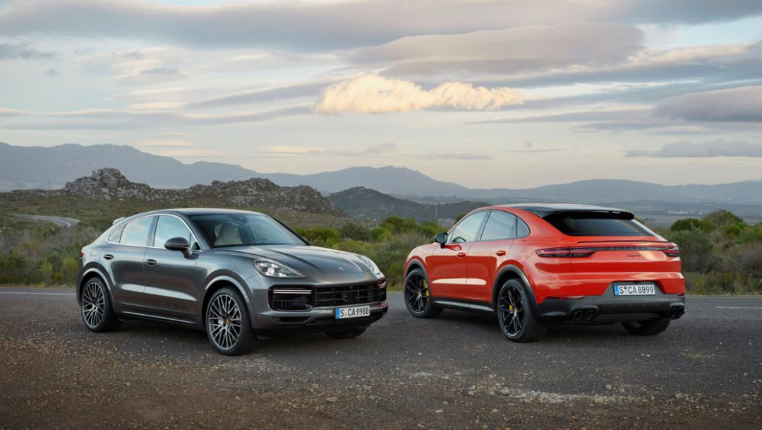Cayenne Coupé and Cayenne Turbo Coupé, 2019, Porsche AG