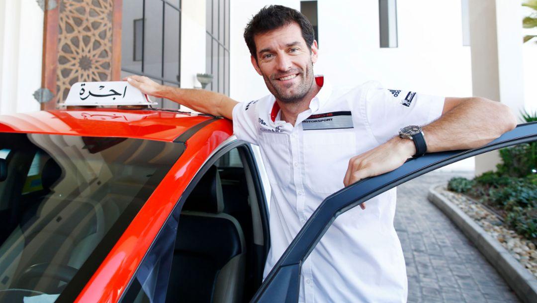 Mark Webber, Porsche works driver, WEC, Bahrain, 2016, Porsche AG